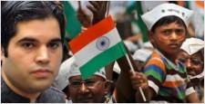 वरुण गांधी, अन्ना हजारे, लोकपाल बिल, रामलीला मैदान