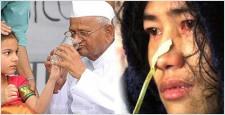इरोम शर्मिला, अन्ना हजारे, आरटीआई एक्टिविस्ट, 'गांधीवादी सामाजिक