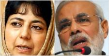 जम्मू कश्मीर, महबूबा मुफ्ती, गुजरात, नरेन्द्र मोदी