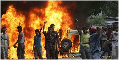 अहिंसा दिवस, रूद्रपुर, इंदिरा चौक, भदईपुरा, फ्लैग मार्च