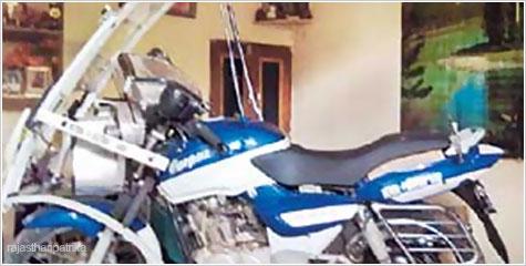 बूंदी, मोटरबाइक, पेट्रोल, इलेक्ट्रोनिक, पेटेंट ऑफ इण्डिया