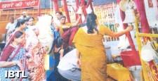 राम नवमी उत्सव, मंदिर में घंटी बजाने पर रोक, hyderabad, Owaisi, temple bell, IBTL