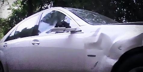 मर्सिडीज, हवलदार, मौत, mercedes car, policemen, Night patrolling, motorcycle, accident, hit and run case, IBTL