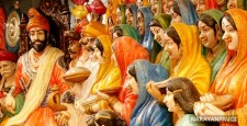 Shivaji coronation, Vedas, Balaji Avji Prabhu, Sisodias of Mewar, Kshatriyas, purest Rajput clan, Mahadeva, Siva, Bhavani, Gaga Bhatta, culture of India, ibtl