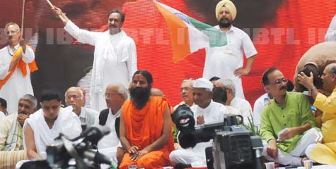 baba ramdev, anna hazare, bofors, black money, 03 june, 09 august, anshan, agitation, ibtl