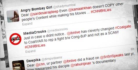 CNNIBNLies, rajdeep sardesai, the human boundaries, 30 Minutes episode Nobody's Countrymen, CNN ibn live, tweets, rahul nair, pakisatani hindus docudrama, pak hindu documentary, The Human Boundaries 2012, #CNNIBNLies