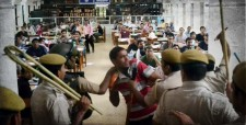 Indian democracy, Congress, abvp, brutal lathicharge, delhi police, DUSU 2012 election, delhi university, du