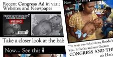 gujarat congress ad, srilanka flood, un, tulika 4 gujarat, bagga, bhagat singh kranti sena, bjp